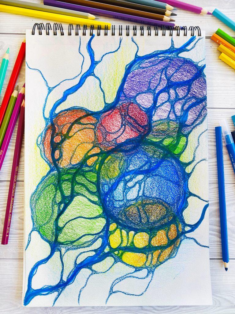 Neurografica cerchi e linee